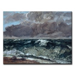Gustave Courbet - Fala